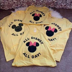 Disney family shirt bundle.